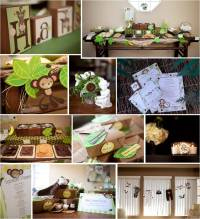 Monkey Themed Baby Shower | Party Favors Ideas
