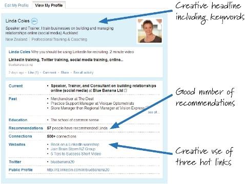Top tips to improve your LinkedIn Summary - Margaret Buj - Interview