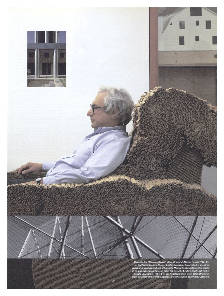 Ball Chair New Again: Frank Gehry - Interview Magazine