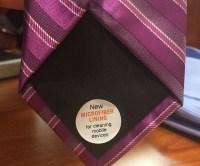 Microfiber Lined Ties - INTERWEBS