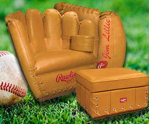 Baseball Glove Chair Interwebs