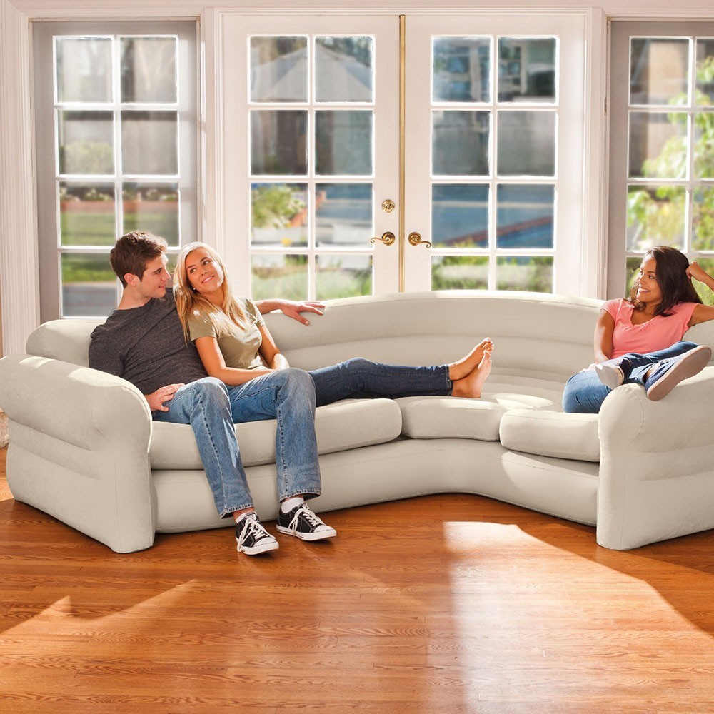 Le Canape Gonfle Mobilier Gonflable Intex Confortable Pratique Et Design