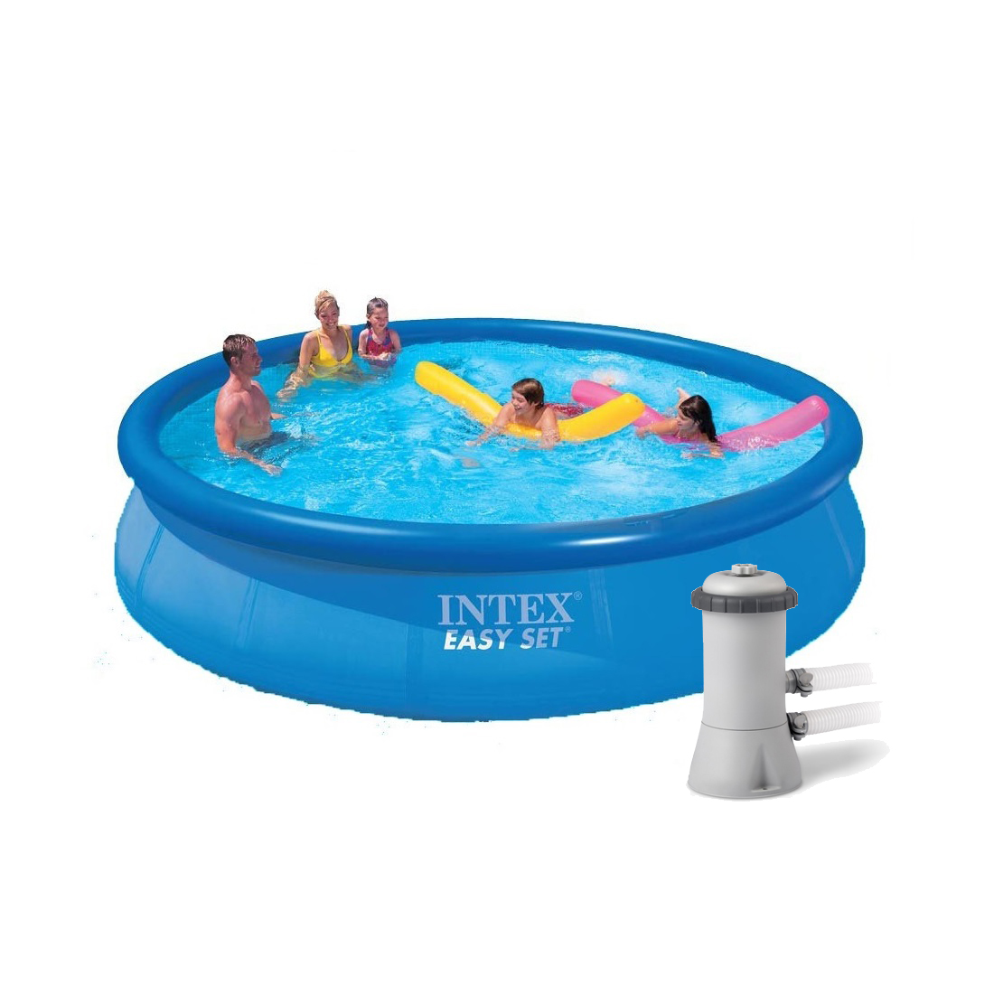 Piscina Intex Niños Piscina Inflable Intex 28160 Bomba 28604 457cm 10681l