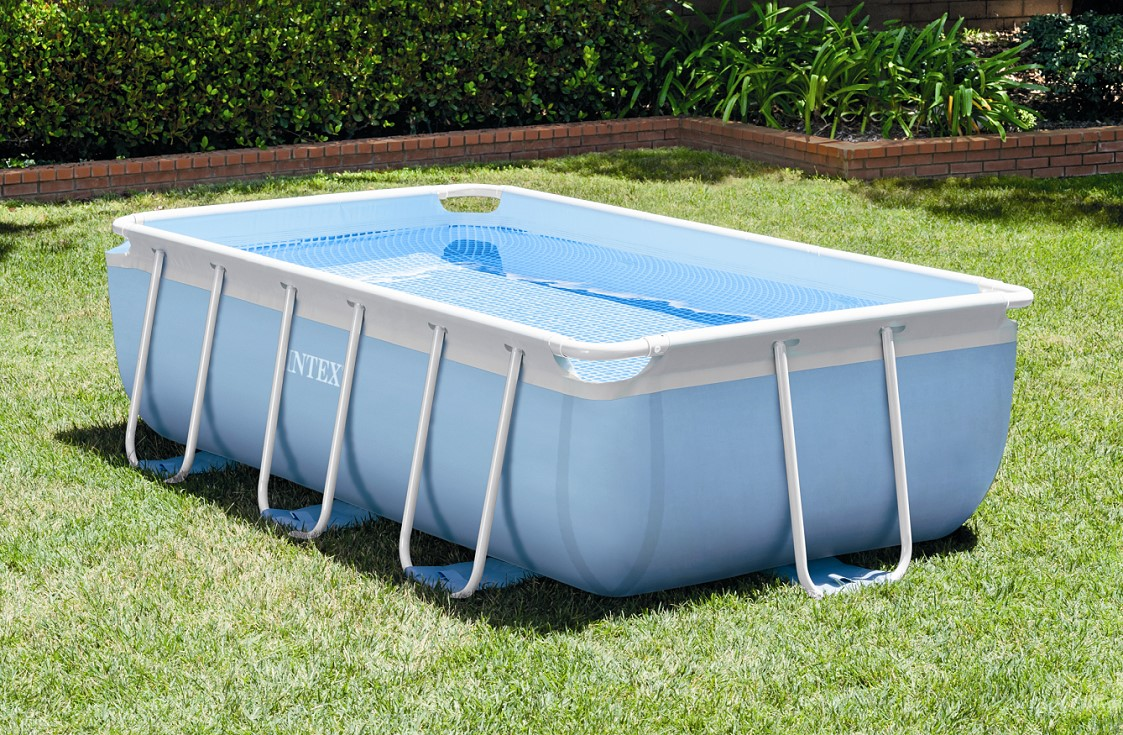 Abdeckplane Intex Pool Rechteckig Intex Prism Frame Pool 300x175x80 26784