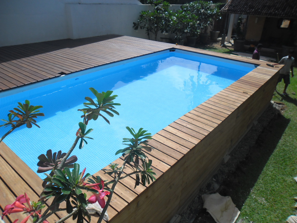 Pool Komplettset Teilversenkt Pool Ideas Intex For Your Recreational Times