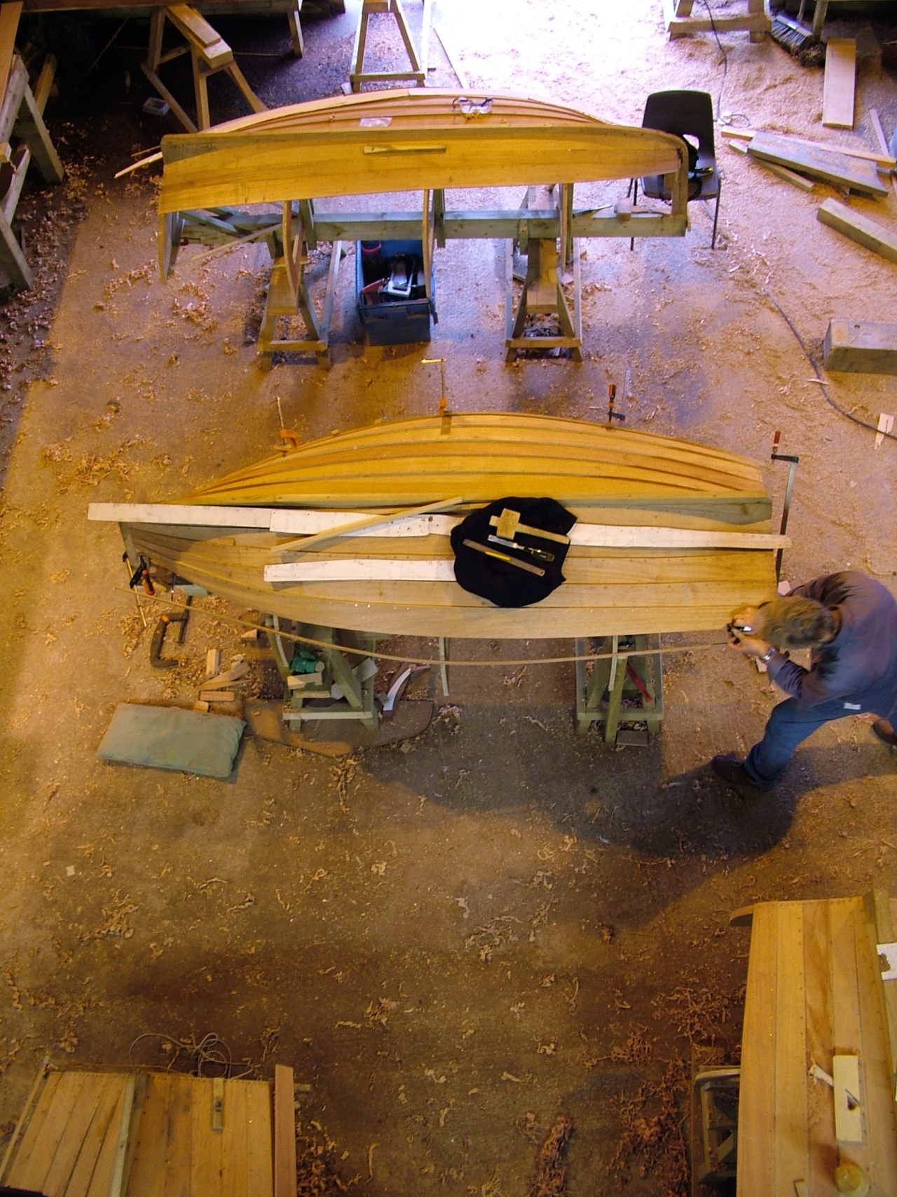 Build dinghies and learn boatbuilding with Stirling & Son | intheboatshed.net