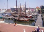 traditional wooden boats at Bremerhaven