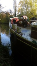 Boats on the Medway at Allington 8