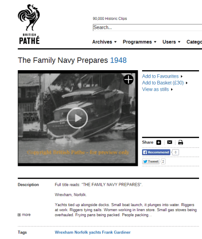 The Family Navy Prepares