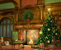 In the Event | Holiday Fireplace