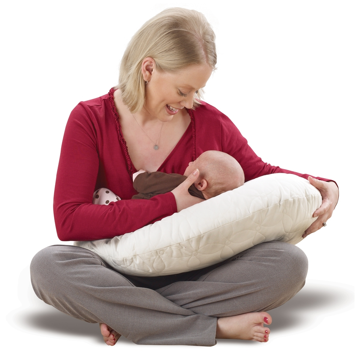 Dr. Brown's Gia nursing pillow {Breastfeeding Week