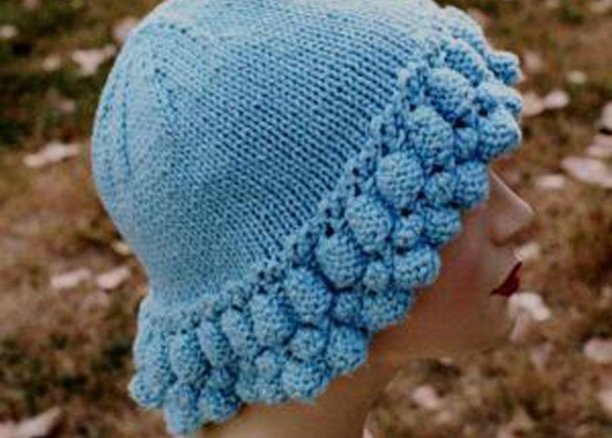 Cascade Knitting Patterns : Cascade Hat Free Knitting Pattern In the Loop Knitting