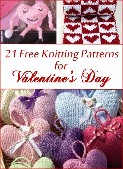 Valentine s Day Free Knitting Patterns In the Loop Knitting