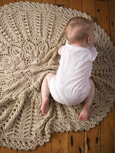 Quick Blanket Knitting Pattern : Quick Baby Blanket Knitting Patterns In the Loop Knitting