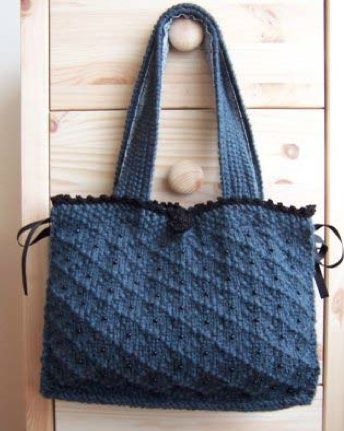 Free Knitting Pattern - Bags, Purses & Totes: Victoria Bag