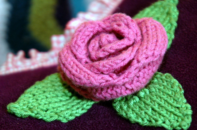 Flower Knitting Patterns Free : Free Flower Knitting Patterns In the Loop Knitting