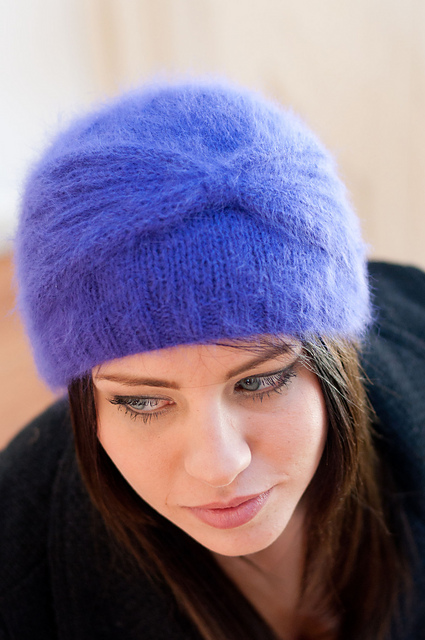 Knitting Pattern For Cloche Hat : Cloche Hat Free Knitting Patterns In the Loop Knitting
