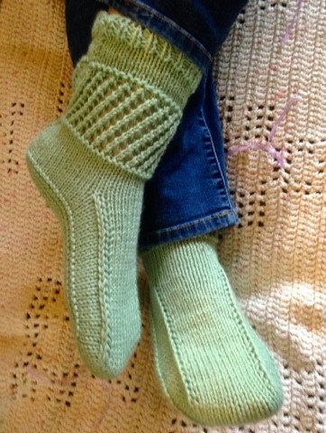 Knitting Pattern Ankle Warmer Boots