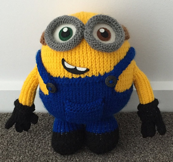 Free Knitting Patterns Baby Hat : Minion Inspired Knitting Patterns In the Loop Knitting