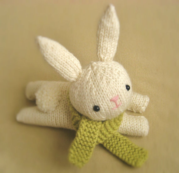 Knitted Amigurumi Patterns Free : Bunny Rabbit Knitting Patterns In the Loop Knitting