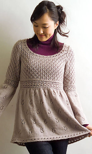Tunic and Dress Knitting Patterns In the Loop Knitting