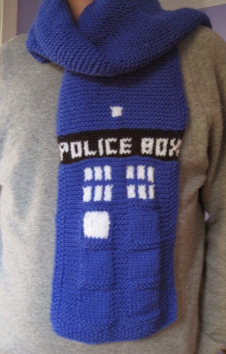 Free Knitting Pattern For Dr Who Scarf : Doctor Who Knitting Patterns In the Loop Knitting