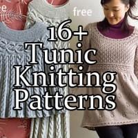 Tunic and Dress Knitting Patterns