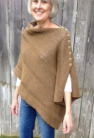 Knitting Patterns For Ponchos And Shawls : Poncho Knitting Patterns In the Loop Knitting