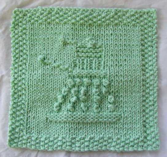 Knitting Washcloth Patterns : Dishcloth and Washcloth Knitting Patterns In the Loop Knitting