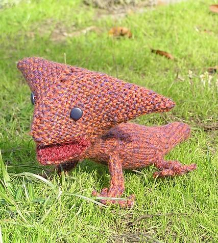 Dinosaur Knitting Patterns In the Loop Knitting