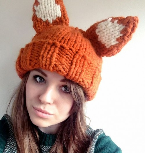 Fox Knitting Patterns In the Loop Knitting