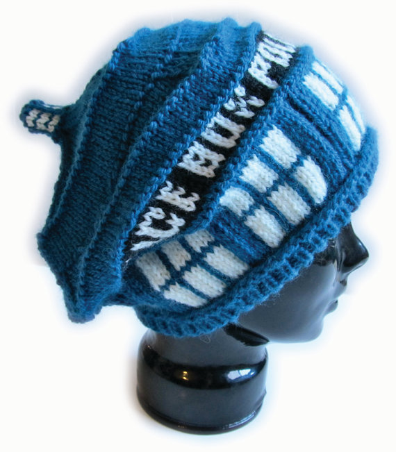 Free Crochet Pattern Tardis Hat : Fun Hats Knitting Patterns In the Loop Knitting