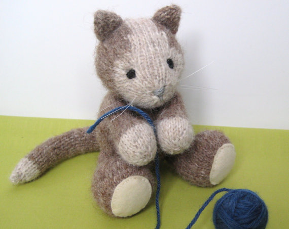Cat and Kitten Knitting Patterns In the Loop Knitting