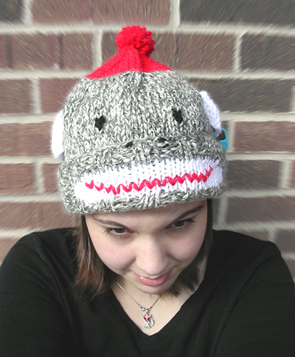 Sock Monkey Hat Knitting Pattern : Sock Monkey Knitting Patterns In the Loop Knitting