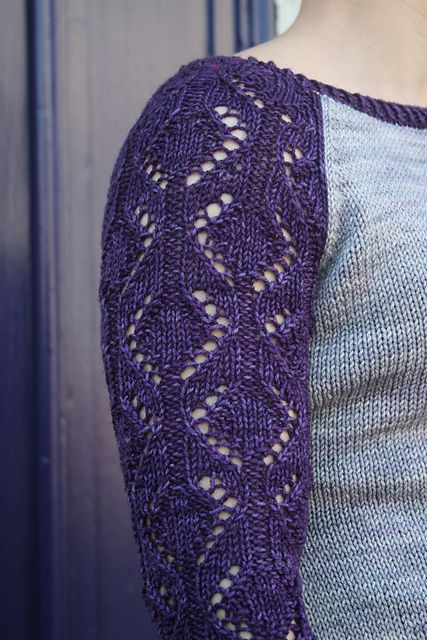 Diamond Knitting Patterns In the Loop Knitting