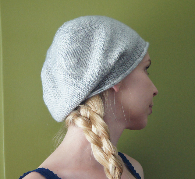 Free Knit Slouch Hat Pattern : Slouchy Hat Knitting Patterns In the Loop Knitting