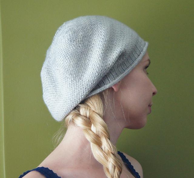 Free Knitting Pattern Slouchy Beret : Slouchy Hat Knitting Patterns In the Loop Knitting