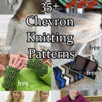 Chevron Knitting Patterns