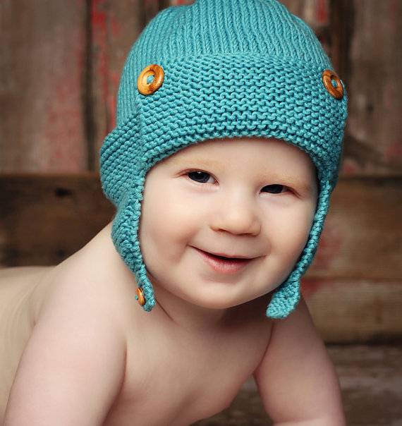Baby Knitted Hat Patterns On Circular Needles : Baby Hat Knitting Patterns In the Loop Knitting