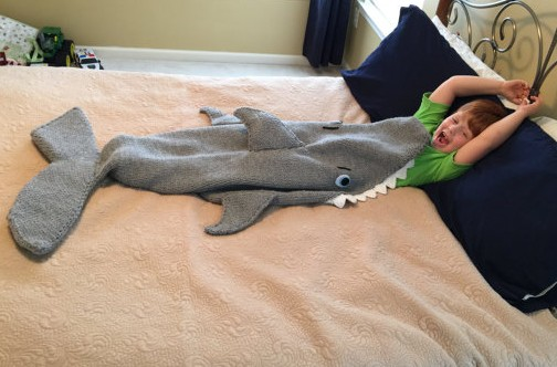 Knitting Pattern For A Shark Blanket : Sea Creature Knitting Patterns In the Loop Knitting