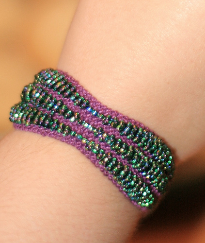 Bracelet Knitting Patterns In the Loop Knitting