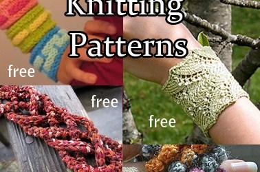Bracelet Knitting Patterns