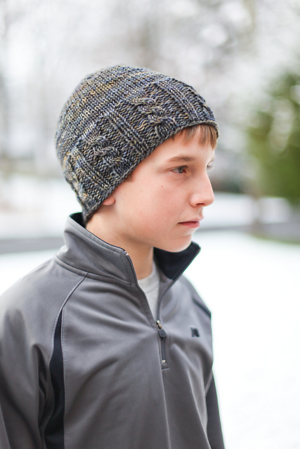 Knitted Hat Patterns For Men : Knitting Patterns for Men In the Loop Knitting