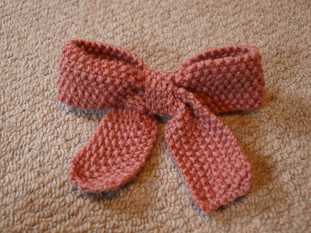 Knitted Bow Pattern : Gift Wrap Knitting Patterns In the Loop Knitting
