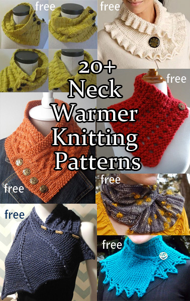 Neckwarmer Knitting Patterns