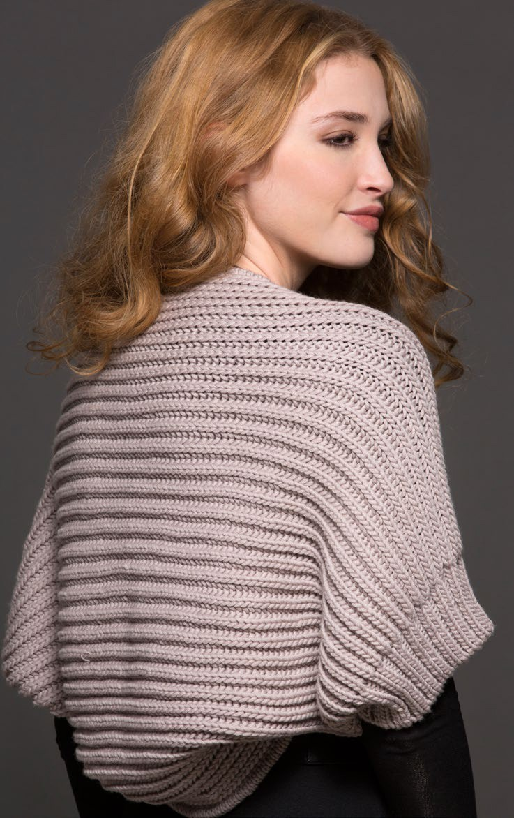 Easy Knit Shrug Pattern : Easy Shrug Knitting Patterns In the Loop Knitting