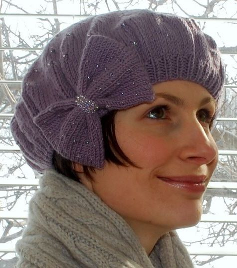 Knitting Patterns For Berets And Hats : Beret Knitting Patterns In the Loop Knitting
