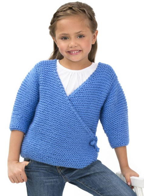 Child s Kimono Knitting Pattern : Japan Inspired Knitting Patterns In the Loop Knitting