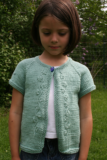 Knitting Pattern Loopy Cardigan : Cardigans for Children Knitting Patterns In the Loop ...