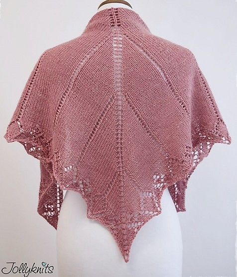 Knitting Patterns For Large Shawls : Easy Shawl Knitting Patterns In the Loop Knitting